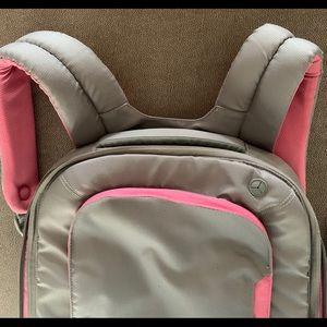Belkin Backpack Pink Gray Slim Notebook Design